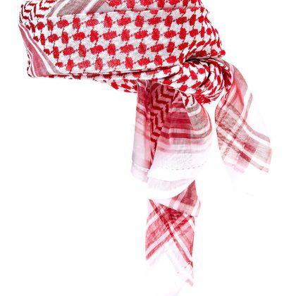 Ghatra Cap Red/White