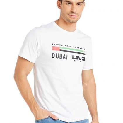 Typographic Print T-Shirt