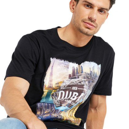 Graphic T-Shirt Black