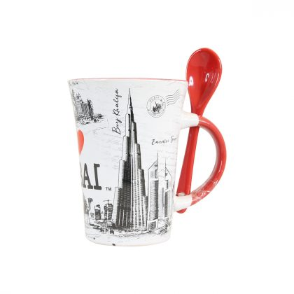 I Love Dubai Design Mug