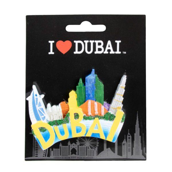 FM-00-2108 Fridge Magnet Design Dubai Al Jaber Attractive