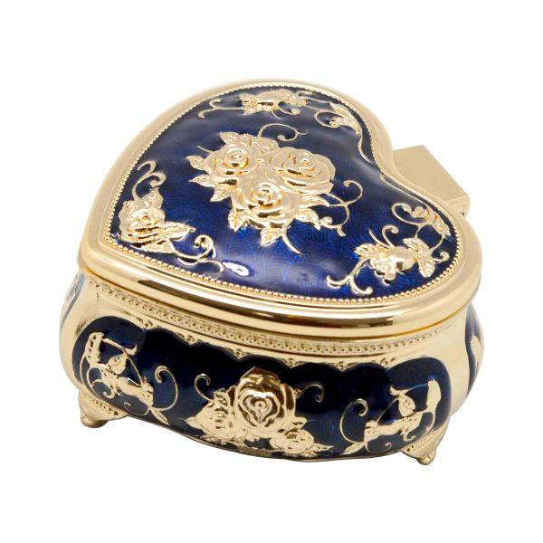 Jewellery Box Gold Plated Dubai Gold Al Jaber Attractive-GP-01-1710