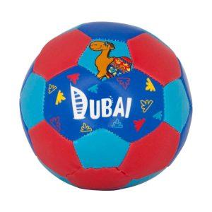 Football blue rexine h10.5cm x l9cm x w9cm Al Jaber Gifts